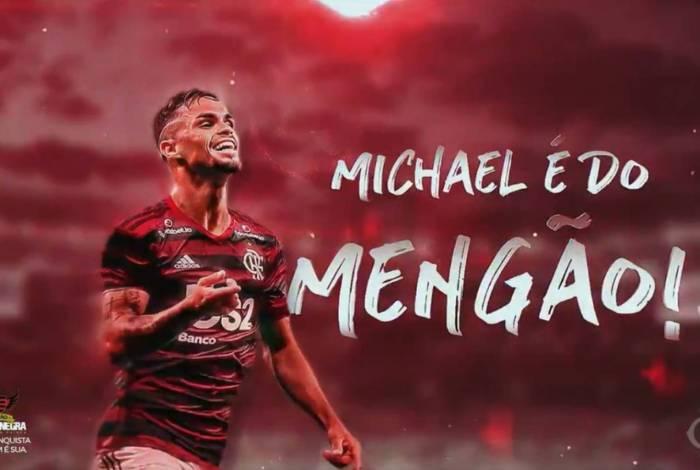 Michael é o novo reforço do Flamengo