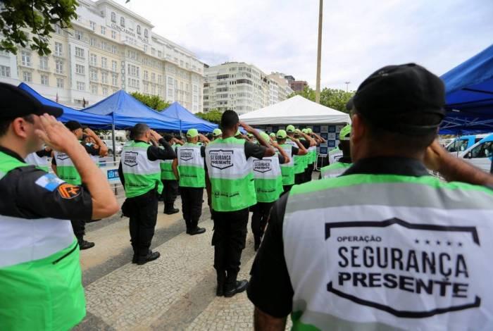 20/01/2020 - Rio de Janeiro - RJ - Inauguração Segurança Presente em Copacabana. Foto: Philippe Lima