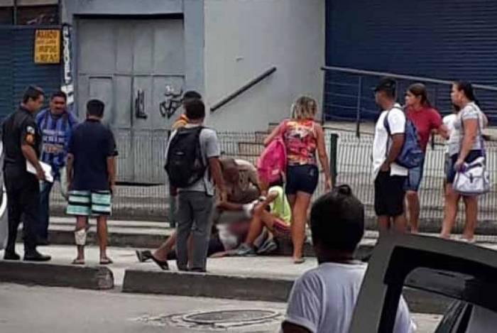 Acidente aconteceu na altura da estação Pastor José Santos