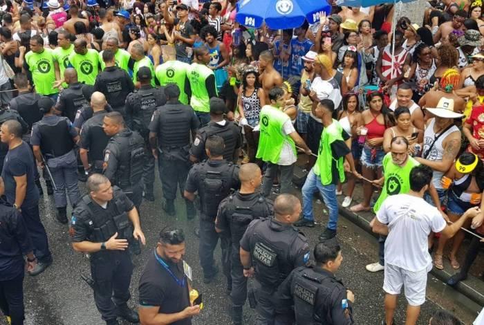 Responsável pelo policiamento na região, o comando do 5º BPM (Praça da Harmonia) coordenará um efetivo de cerca de mil PMs