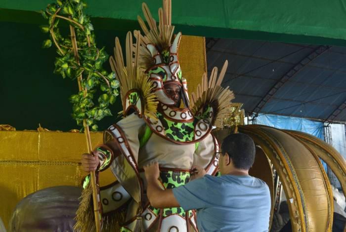 Uma das escolas mais tradicionais do Carnaval carioca, com nove títulos, Império Serrano desfilará no grupo A com o enredo