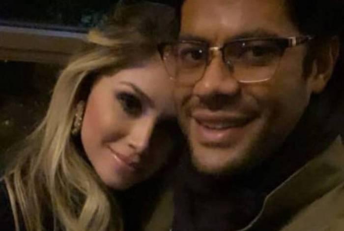 Camila Ângelo e Hulk Paraíba