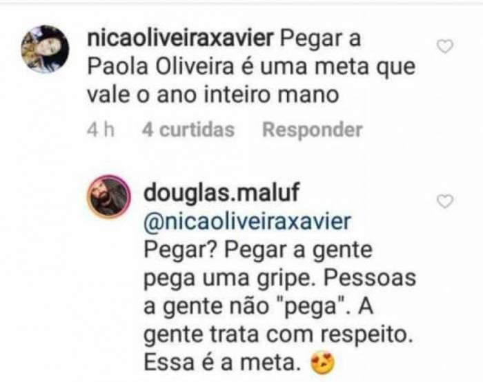 Bronca de Douglas Maluf