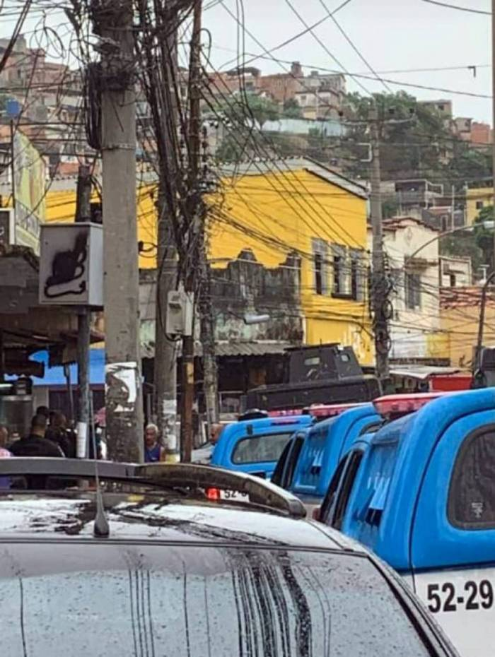 Operação no Morro Urubu