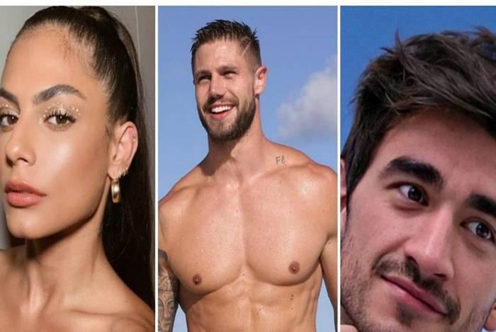Mari Gonzalez, Jonas e Guilherme