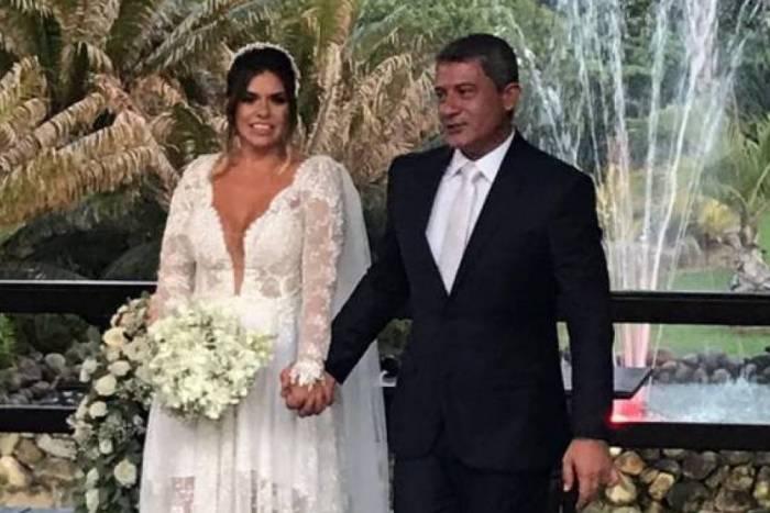 Tomo Veiga (Louro José) e Cybelle Hermínio