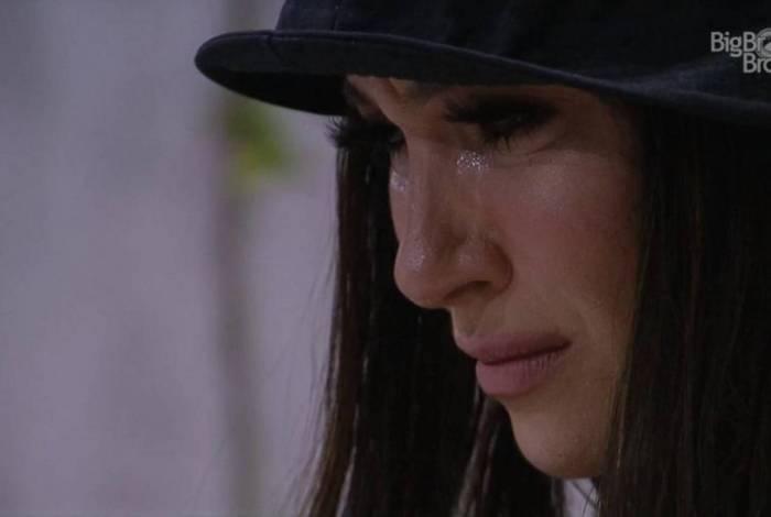 Bianca Andrade chora após ser indicada ao paredão