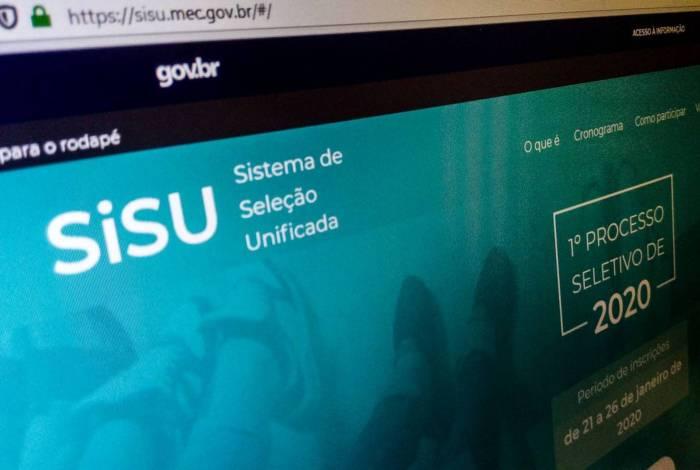 Ontem, os estudantes encontravam dificuldade no acesso ao site