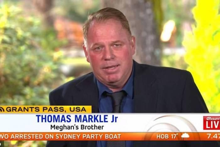 Thomas Markle Jr deu entrevista a programa australiano