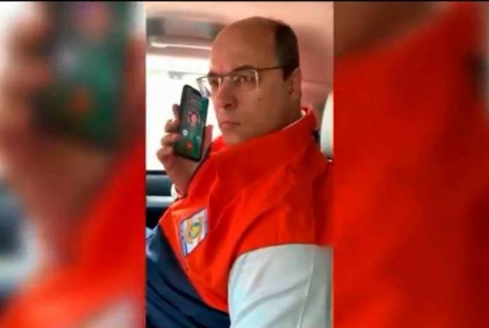 Witzel é criticado por Bolsonaro e Mourão por ter gravado e divulgado telefonema