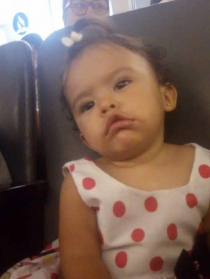 Pequena Maria Luiza dos Santos morreu em atropelamento
