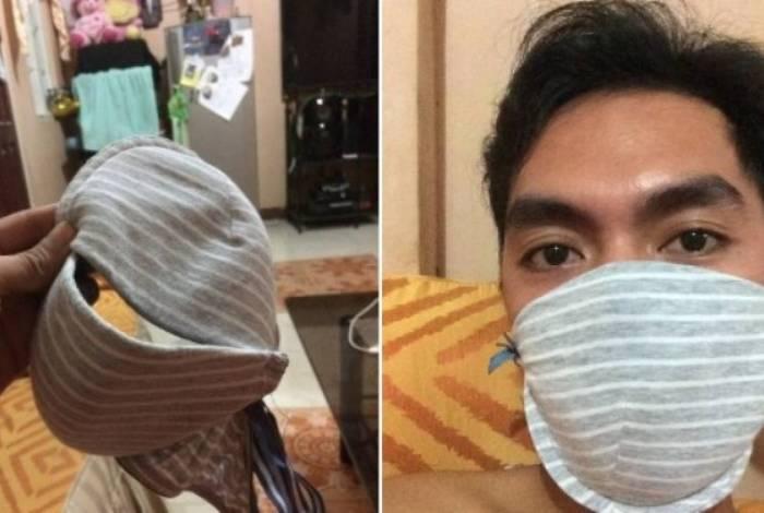 Cidadãos chineses estão usando por conta própria alternativas para se prevenir do coronavírus