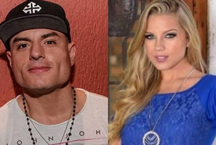 Carlinhos Mendigo e Aline Hauck