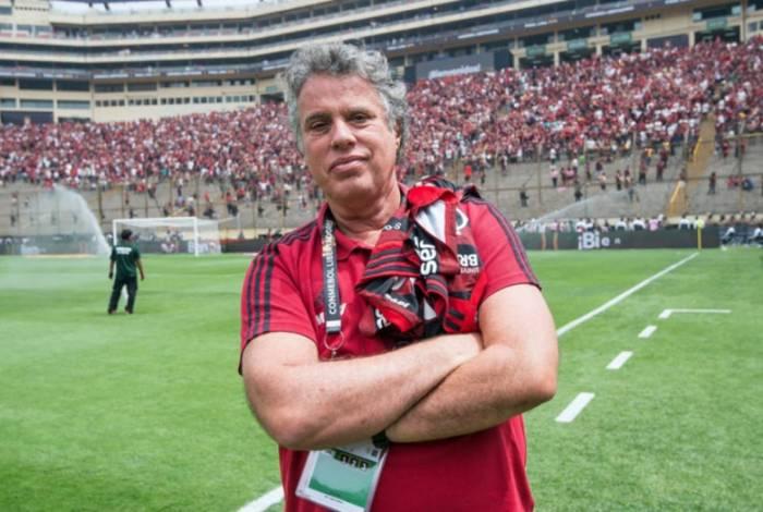 Gustavo Oliveira, vice de comunicação do Flamengo