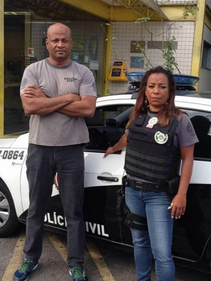 Belém com o chefe de Investigação da delegacia da Barra, o Jorge Luiz Camillo Alves, preso na operação Os Intocáveis II