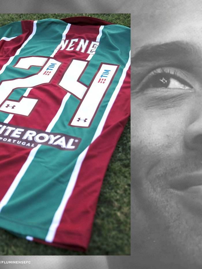 Em homenagem a Kobe Bryant, Nenê será o camisa 24 do Fluminense na Sul-Americana