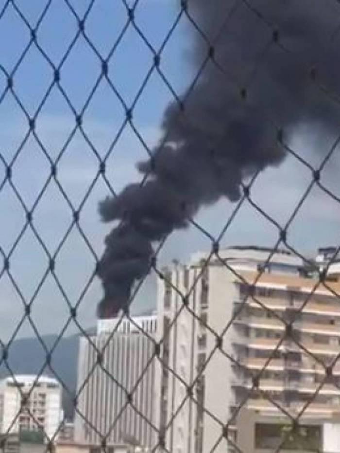 Incêndio atinge o prédio da DataPrev