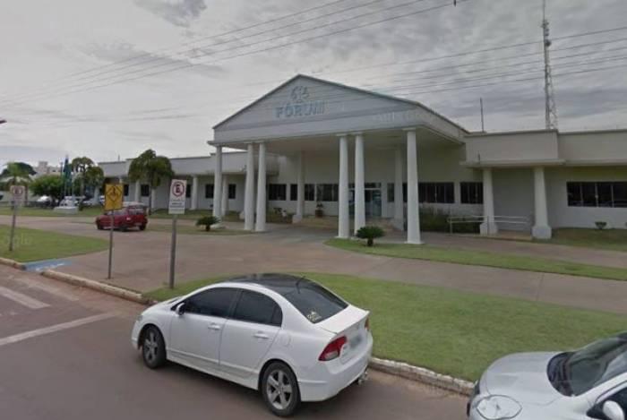 Praça da Catedral em Sinop, Mato Grosso