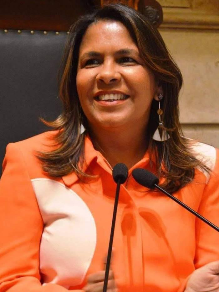 Tânia Bastos é a líder do Republicanos na Câmara de Vereadores do Rio