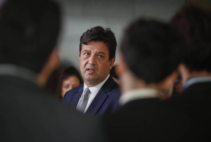 Ex-ministro da Saúde Luiz Henrique Mandetta