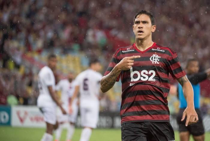 Pedro estreia no Flamengo