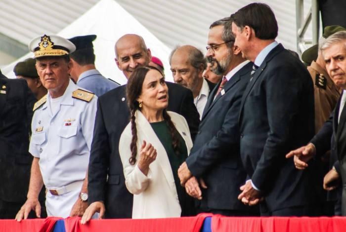 Regina Duarte toma posse nesta quarta às 11h, em cerimônia para cerca de 600 pessoas no Palácio do Planalto