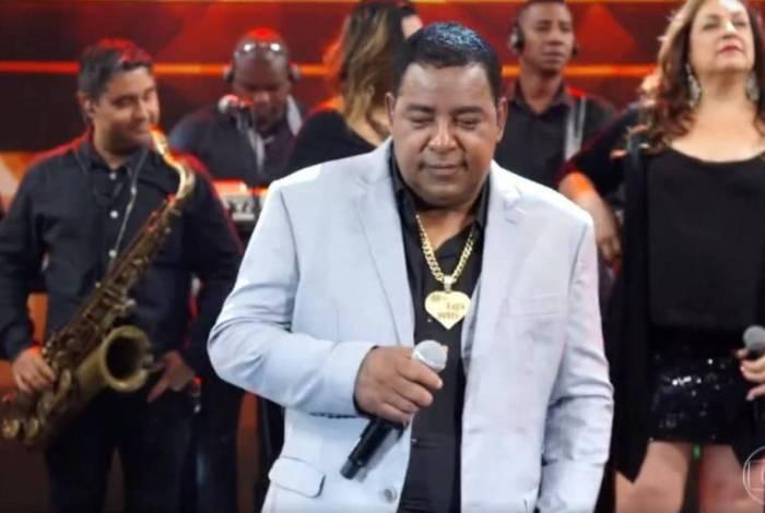 Luiz Carlos no 'Domingão do Faustão'