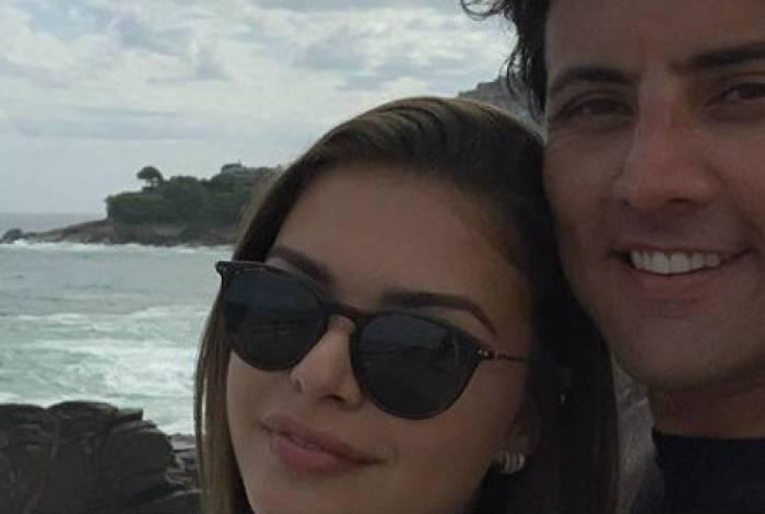 Bruno de Luca está namorando dançarina do 'Domingão do Faustão'