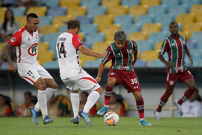 Fluminense enfrenta a Unión La Calera