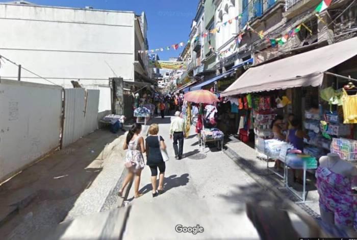 Rua da Alfândega:acesso a biblioteca infantil gratuita
