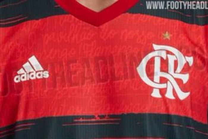 Nova camisa 1 do Flamengo
