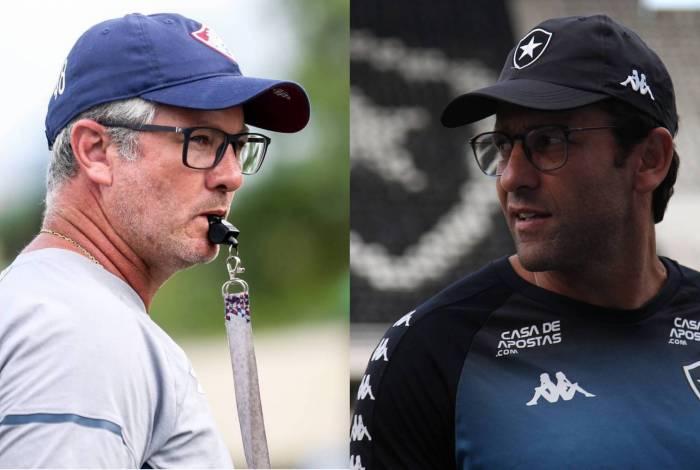 Odair Hellmann e Alberto Valentim já venceram clássico em 2020