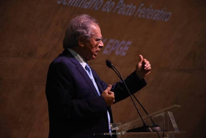 Ministro da Economia, Paulo Guedes lamentou possível ida de Mansueto para a iniciativa privada