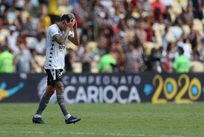 09/02/2020 - FLUMINENSE X BOTAFOGO se enfrentam, neste domingo, no Maracana pela 6 rodada do Campeonato Carioca. Foto: Daniel Castelo Branco / Agencia O Dia