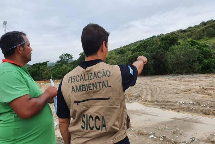 Polícia Ambiental faz mapeamento da bacia do Rio Guandu