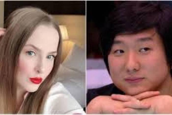 Débora Welker e Pyong