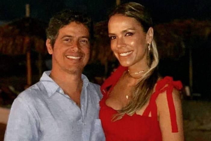 Lígia Mendes e o marido