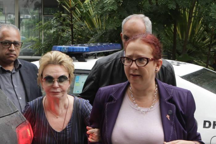 Yvelise de Oliveira prestou depoimento durante três horas na sede da DHNSG, em Niterói