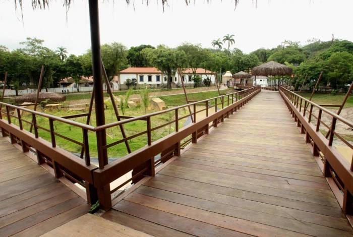Apresentação das obras do novo Zoológico do Rio, que se chamará, Bio Parque do Rio, na Quinta da Boa Vista.Na foto,dependências e obras do Zoo.