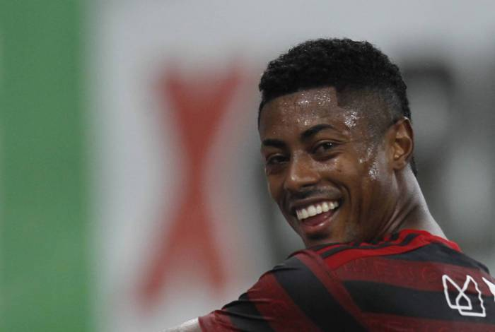 Bruno Henrique, atacante do Flamengo