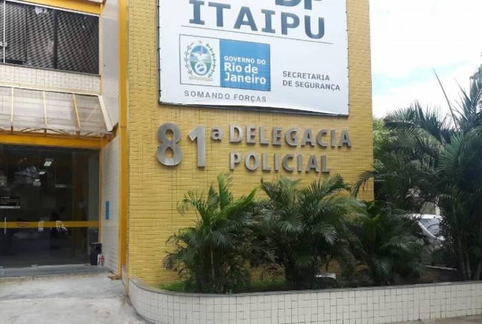 O caso foi encaminhado a 81ªDP (Itaipu)