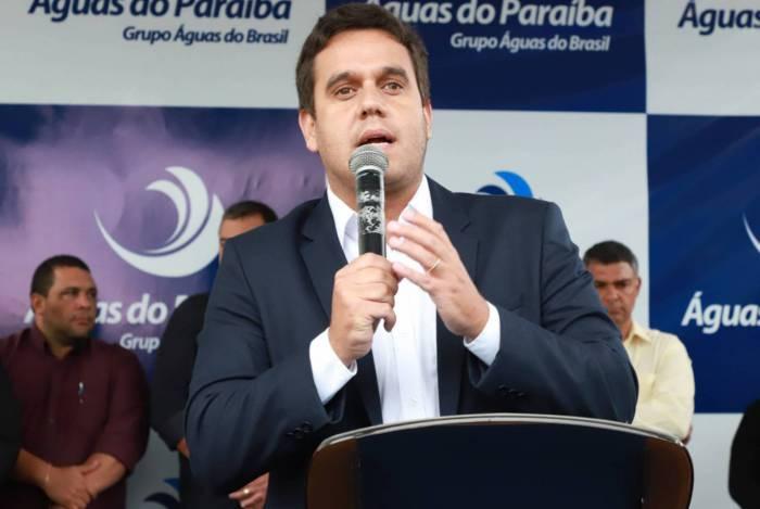O prefeito de Campos, Rafael Diniz, inaugurou a oitava estação de tratamento de esgoto do município