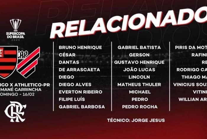 Relacionados do Flamengo
