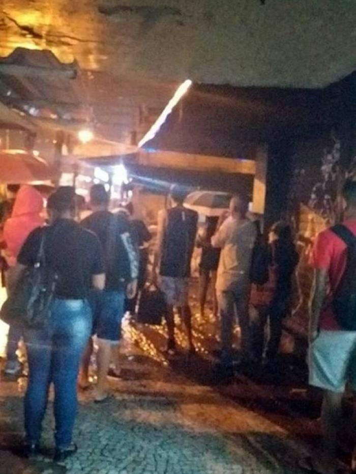 Moradores ficaram com medo do intenso tiroteio na região