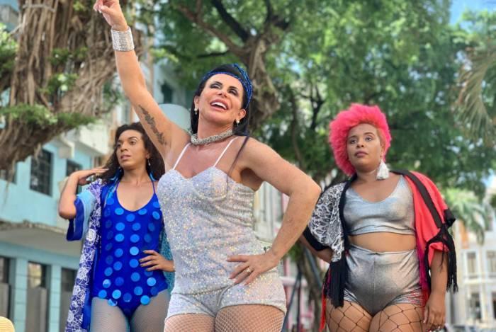 Gretchen é convidada pela Prefeitura de Recife para ser a rainha da campanha de combate ao assédio