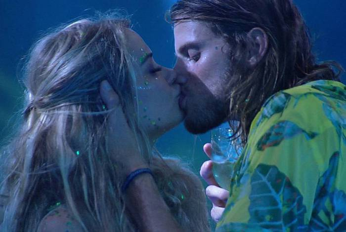 Marcela e Daniel se beijam no 'BBB20'
