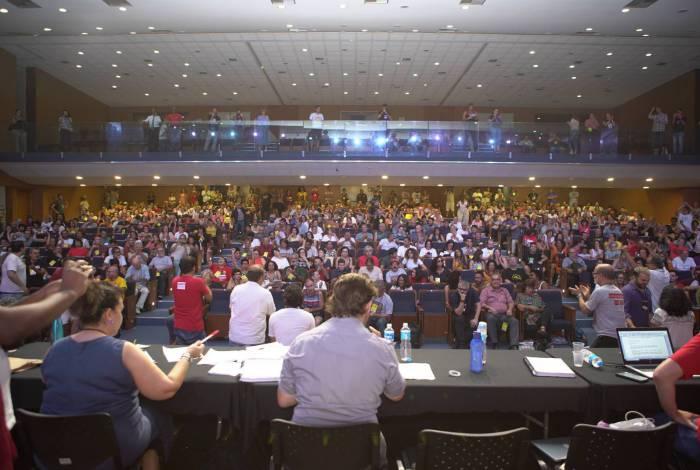 No 39º Congresso do Andes-SN, docentes decidiram montar calendário de lutas e construir a greve de 18 de março