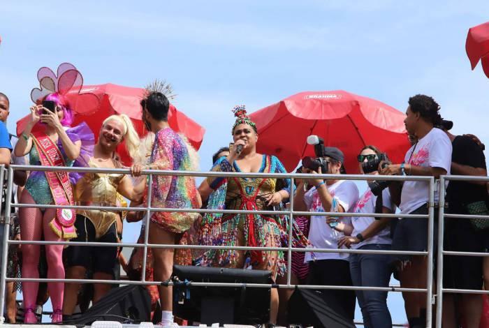 Bloco da Preta anima foliões no Centro do Rio