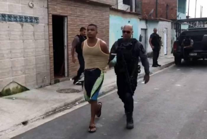 Elder Pereira dos Santos foi capturado na favela do Antares