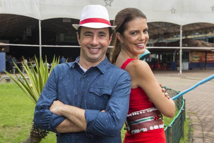Pedro Bassan e Mariana Gross